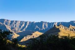 Południe - afrykański punkt zwrotny, Amphitheatre od Królewskiego Natal obywatela P Zdjęcie Royalty Free