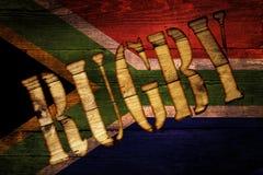Południe - afrykański rugby obraz stock
