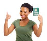 Południe - afrykanina ID obrazy royalty free