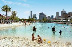 Południe banka Parklands - Brisbane Australia obrazy royalty free