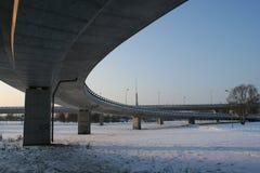 Południe bridżowy wiadukt fotografia royalty free