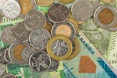 Południe - krajów afrykańskich banknoty Fotografia Royalty Free