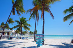 Południe plaża Key West zdjęcie stock