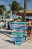 Południe plaża w Key West, Floryda fotografia stock