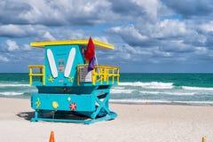 Południe plaża w Miami, Floryda Obraz Stock