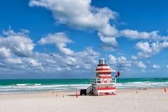 Południe plaża w Miami, Floryda Zdjęcie Royalty Free