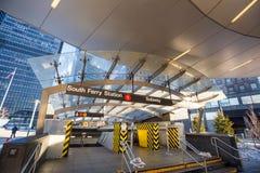 Południe promu metra wejście Zdjęcie Stock