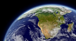 Południowa Afryka royalty ilustracja