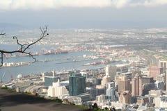 Południowa Afryka krajobrazu przylądka miasteczko 1 Obrazy Royalty Free