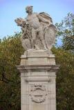 Południowa Afryka statua blisko pałac buckingham Zdjęcie Stock