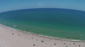 Południowa Floryda plaża 360 deg widok Zdjęcia Royalty Free