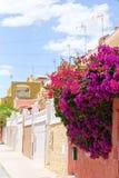 Południowa hiszpańska ulica Zdjęcia Royalty Free