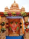 Południowa Indiańska świątynia zdjęcie royalty free
