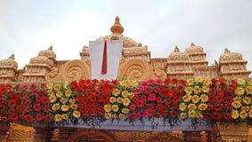 Południowa Indiańska świątynia fotografia stock