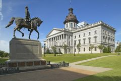 Południowa Karolina stan Capitol fotografia stock