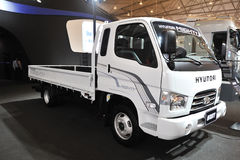 Południowa Korea Hyundai Można ciężarówka zdjęcie royalty free