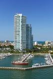 Południowa Miami plaża obraz royalty free