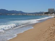 Południowa plaża Fotografia Royalty Free