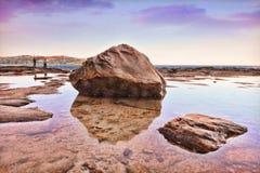 Południowe Avoca skały Obrazy Stock