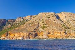 Południowe wybrzeże Crete Fotografia Royalty Free
