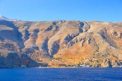 Południowe wybrzeże Crete, Grecja Fotografia Stock