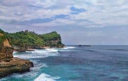 Południowe wybrzeże Java Fotografia Royalty Free