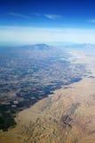 Południowego California krawędź pustynia Obrazy Royalty Free