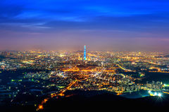 Południowego Korea linia horyzontu Seul najlepszy widok Południowy Korea Zdjęcia Royalty Free