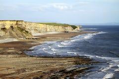 Południowej Walii wybrzeże Zdjęcia Royalty Free