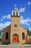 Południowo-zachodni adobe kościół Obrazy Royalty Free