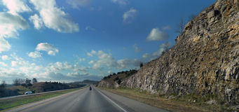 Południowo-zachodni Missouri autostrady przygoda obrazy stock