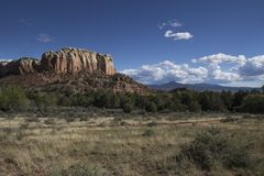 Południowo-zachodni wysokości pustyni krajobrazu dzień Obraz Stock