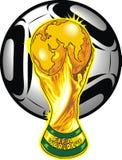 Południowy Africa piłki nożnej temat Fotografia Stock