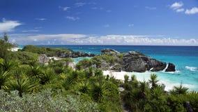 Południowy brzeg park - Warwick parafia, Bermuda obraz stock
