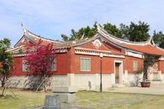 Południowy Fujian czerwonej cegły dom, adobe rgb Obraz Royalty Free