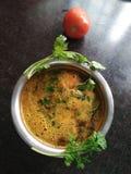 Południowy Indiański Pomidorowy Rasam obraz stock