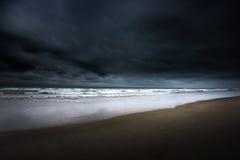 Południowy Jetty plaży Oregon wybrzeże Fotografia Stock