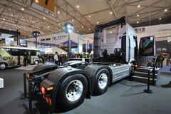 Południowy Korea Hyundai trago xcient ciężarówka obraz royalty free