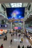 Południowy Korea, lotnisko międzynarodowe Incheon inside Obrazy Stock