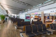 Południowy Korea, lotnisko międzynarodowe Incheon inside Zdjęcie Royalty Free