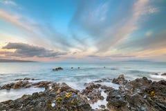 Południowy Maui wschód słońca Zdjęcie Stock