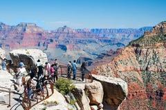 Południowy obręcz Uroczysty jar w Arizona Zdjęcie Stock