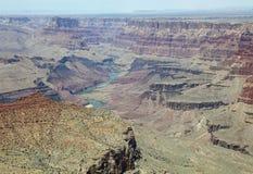 Południowy obręcz w Uroczystego jaru parku narodowym arizonan fotografia royalty free