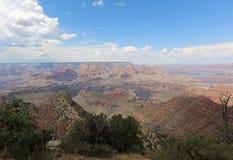 Południowy obręcz w Uroczystego jaru parku narodowym arizonan zdjęcia stock