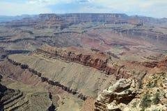 Południowy obręcz w Uroczystego jaru parku narodowym arizonan zdjęcia royalty free