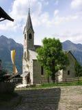 południowy tyrolia do kościoła Fotografia Royalty Free