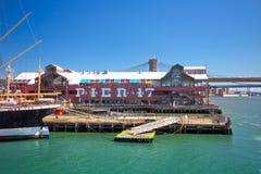 Południowy Uliczny Port morski NYC zdjęcie stock