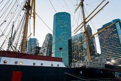 Południowy Uliczny port morski w Nowy Jork Fotografia Stock