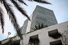 południowych 5 plażowych budynków Zdjęcie Royalty Free