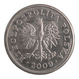 Połysk 20 groszy moneta Obraz Stock